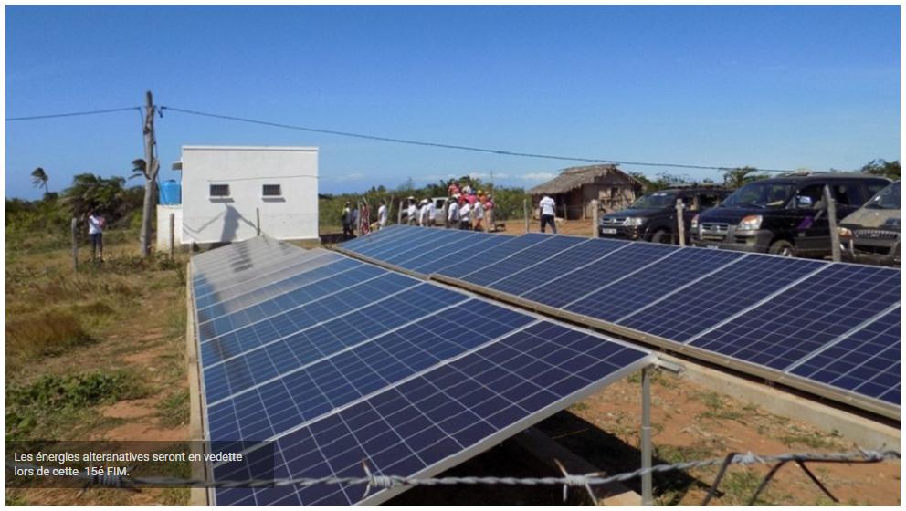 FIM 2021 15è édition Les énergies alternatives en vedette